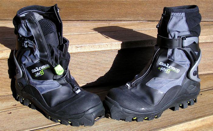 Chaussures de ski de randonnée nordique. SALOMON X ADVENTURE 8